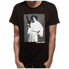 Star Wars - Leia Classic Portrait, pánské tričko L