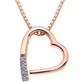 Hot Diamonds Náhrdelník  Just Add Love Memories Rose Gold DP519