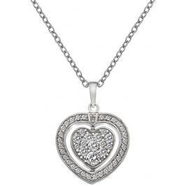 Hot Diamonds Stříbrný náhrdelník  Turning Heart DP606