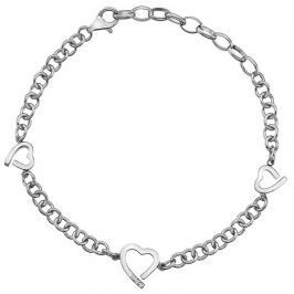 Hot Diamonds Stříbrný náramek  Love DL564