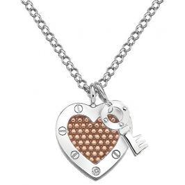 Hot Diamonds Stříbrný náhrdelník  Love DP663