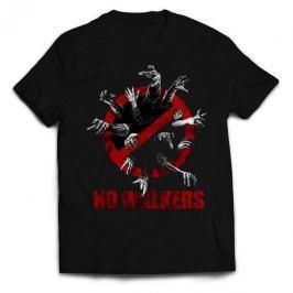 Walking Dead - No Walkers, dámské tričko XL