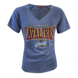 Mitchell & Ness Dámské tričko Mitchell & Ness Home Stretch V-Neck NBA Cleveland Cavaliers, XS