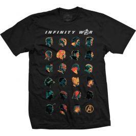 Avengers Infinity War - Black , pánské tričko L