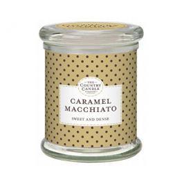Country Candle Vonná svíčka ve skle s víčkem Karamelové macchiato (Caramel Macchiato) 848 g