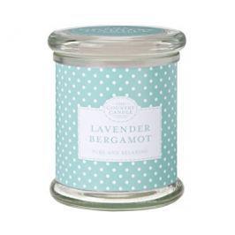 Country Candle Vonná svíčka ve skle s víčkem Levandule & bergamot (Lavender Bergamot) 848 g