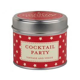 Country Candle Vonná svíčka v plechu Koktejlová party (Cocktail Party) 231 g