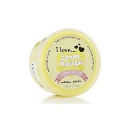 I Love Tělový peeling z našlehaného cukru s vůní citronových sněhových pusinek (Lemon Meringue Whipp