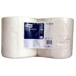 TORK Papírové utěrky, univerzální, role, W1 a W2 systém, 2 vrstvy, bílá,