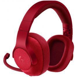 Logitech G433 Gaming Headset Red Emea