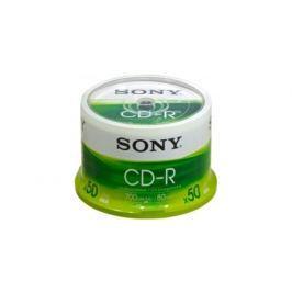 Sony CD-R 700 MB, 48x, cake box,  50 ks