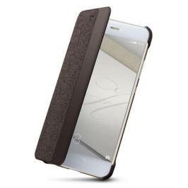 Huawei Pouzdro na mobil flipové  Smart View pro P10 - hnědé