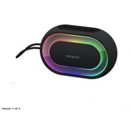 CREATIVE LABS CREATIVE repro HALO RGB (bluetooth, přenosné s programovatelnými světelnými efek