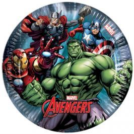 Papírové talířky Avengers 19,5 cm