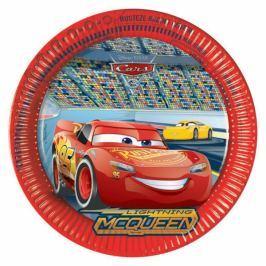 PROCOS talíř papírový 23 cm Cars 8 ks