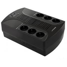 Qoltec Surge protector  | 6 power socket | 650VA | 390W | 2xUSB