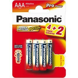 Panasonic LR03 6BP AAA Pro Power alk