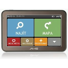 "MIO Spirit 7100 GPS navigace, LCD 5"", mapy EU (44)"