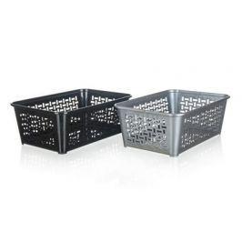 VETRO PLUS Košíček úložný  30x20cm assort