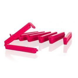 BANQUET Sada klipsů na sáčky CULINARIA Red / Green 10 cm, 6 ks