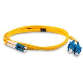 Datacom optický patchcord LC-SC 50/125 MM 15m duplex, OM3
