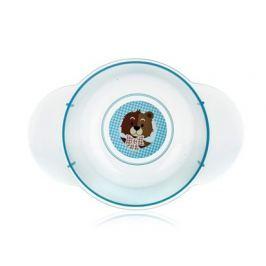 BANQUET Dětská plastová miska   175x124x59 mm, motiv: BEAR