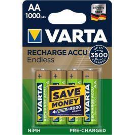 Varta Nabíjecí baterie Endless Energy, AA, 4x1000 mAh, přednabité,