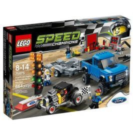 LEGO Speed Champions Ford F-150 Raptor a Ford Model A Hot Ro