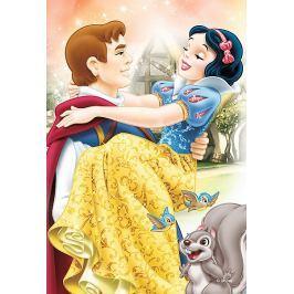 TREFL Dětské puzzle  54 dílků - Disney princezny: Sněhurka a princ
