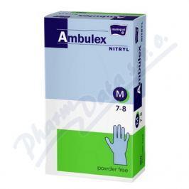TORUNSKE ZAKLADY Ambulex Nitryl rukavice nitril.nepudrované M 100ks