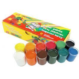Temperové barvy v kelímku 12 barev
