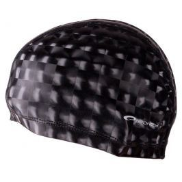 Spokey TORPEDO 3D Plavecká PU čepice černá
