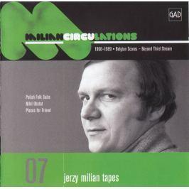 CD Jerzy Milian : Circulations