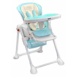 Coto baby Jídelní židlička a houpačka 2v1 ZEFIR 2017 - sv. modrá