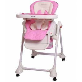Coto baby Jídelní židlička a houpačka 2v1 Zefir 2017 - růžova