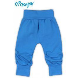 Nicol Tepláčky, kalhoty TUČŇÁK - tyrkysová, 56 (1-2m)