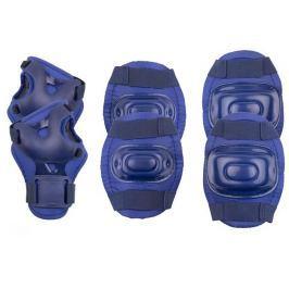 Spokey AEGIS 3-dílná sada dětských chráničů, tmavě modré, vel S-L, S