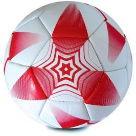 Spokey E2018 II Fotbalový míč bílo-červený vel. 5