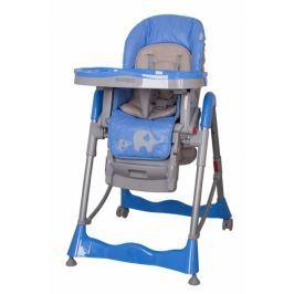 Coto baby Jídelní židlička  Mambo 2017 Blue - SLONÍCI