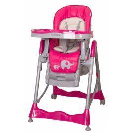 Coto baby Jídelní židlička  Mambo 2017  Hot Pink - SLONÍCI