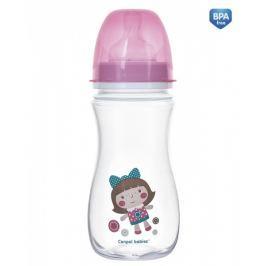 Canpol Babies Antikoliková lahvička se širokým hrdlem  Easy Start - TOYS 300 ml -