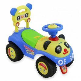 BABY MIX Dětské jezdítko  Panda - modrá