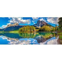 CASTORLAND Panoramatické puzzle Smaragdové jezero, Rakousko 600 dílků