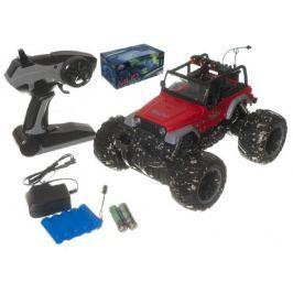 Teddies Auto terénní velká kola RC 25cm+dobíjecí pack plast asst 2 barvy na baterie v kr