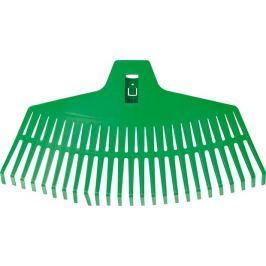 Hrábě vějířovité 430 mm plast 23 zubů