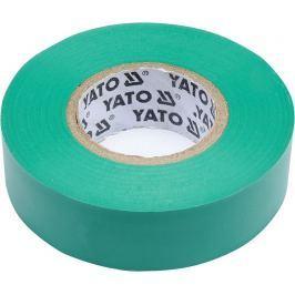 Izolační páska elektrikářská PVC 19mm / 20m zelená