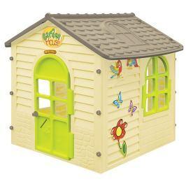 Zahradní domek malý s kytičkami
