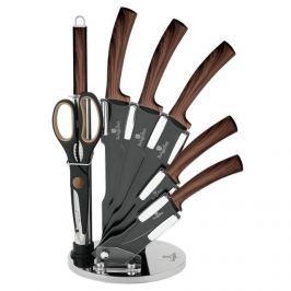 BERLINGERHAUS Sada nožů s nepřilnavým povrchem Forest Line 8 ks