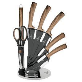 BERLINGERHAUS Sada nožů ve stojanu s nepřilnavým povrchem Forest Line 8 ks