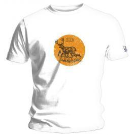 Jelen - Jelen /bílé/, pánské tričko L